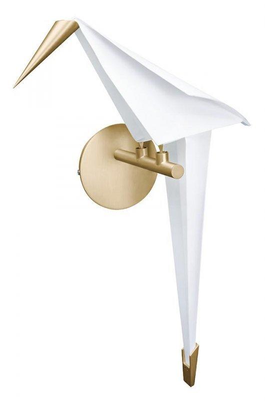 Kinkiet LORO WALL RIGHT złoty - LED