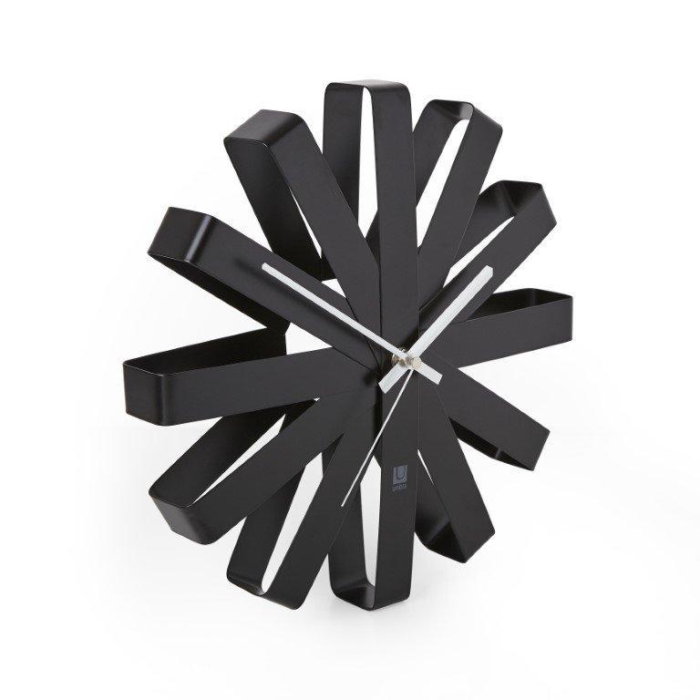 UMBRA zegar BLINK - czarny