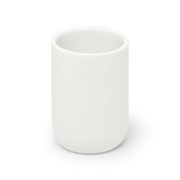 UMBRA kubek łazienkowy JUNIP - biały