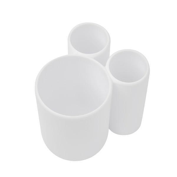 UMBRA kubek na szczoteczki  TOUCH - biały