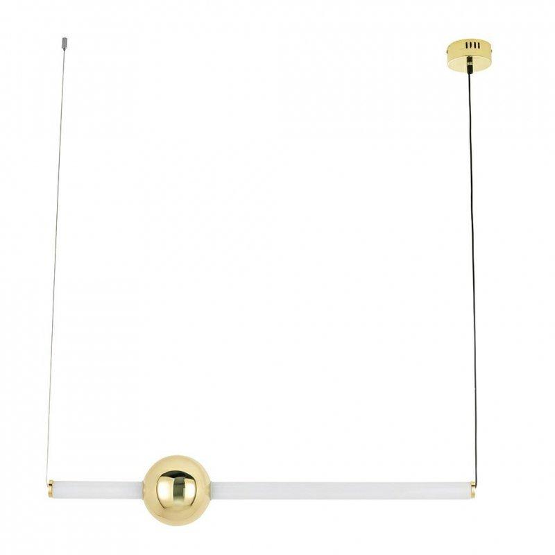 Lampa wisząca LIBRA 90 IN biało - złota