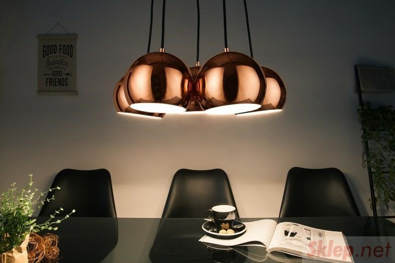 INVICTA lampa wisząca PERLOTTA 5