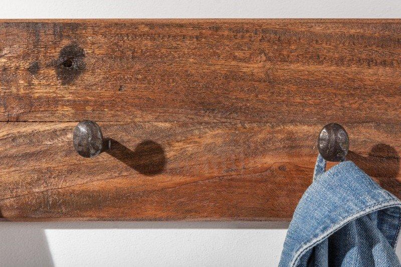 INVICTA wieszak HEMINGWAY 90 cm drewno -  z recyklingu,drewno naturalne, metal