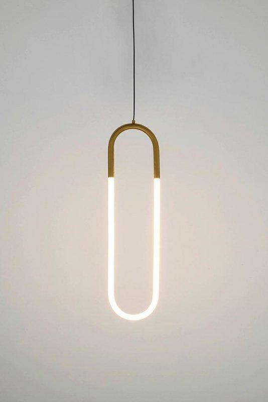 Lampa wisząca PUZO LED L złota