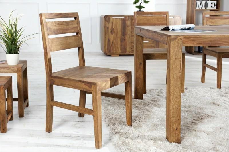 INVICTA krzesła LAGOS sheesham - lite drewno palisander