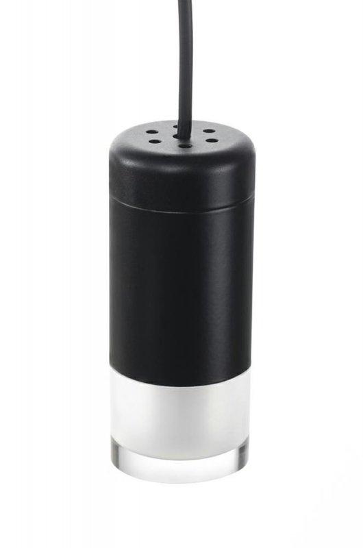 Lampa ścienna FLUSSO WALL 6 czarna