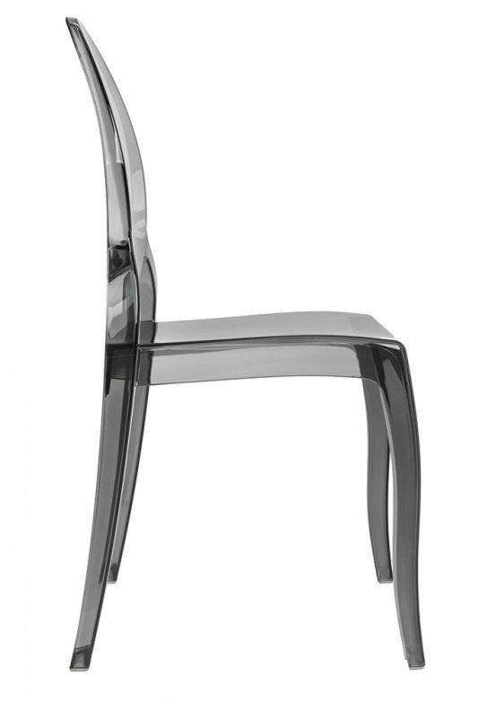 Krzesło ELIZABETH dymione - poliwęglan