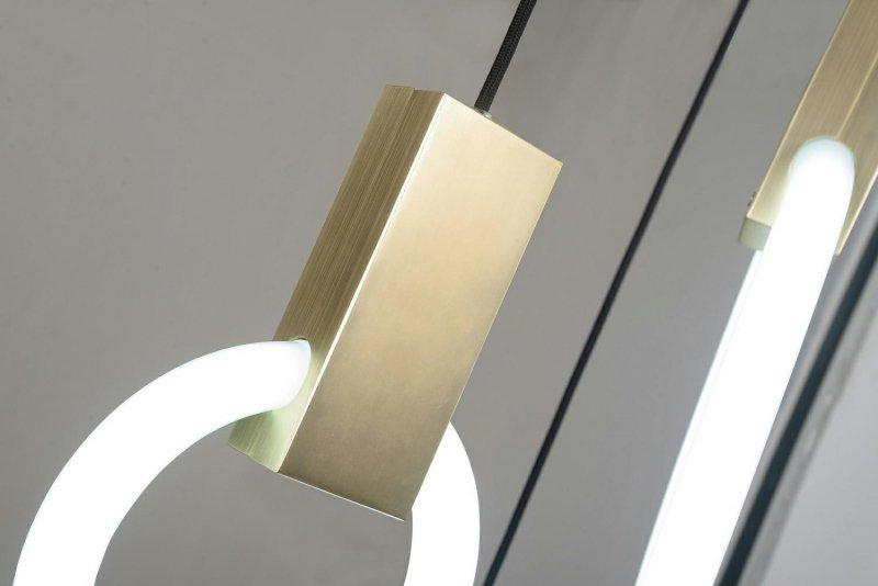 Lampa wisząca HOPP DISC 3 złota