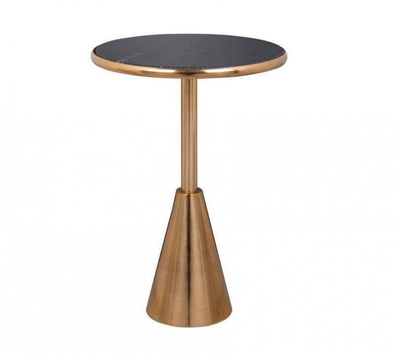 RICHMOND stolik kawowy COLBY 39 czarno-złoty