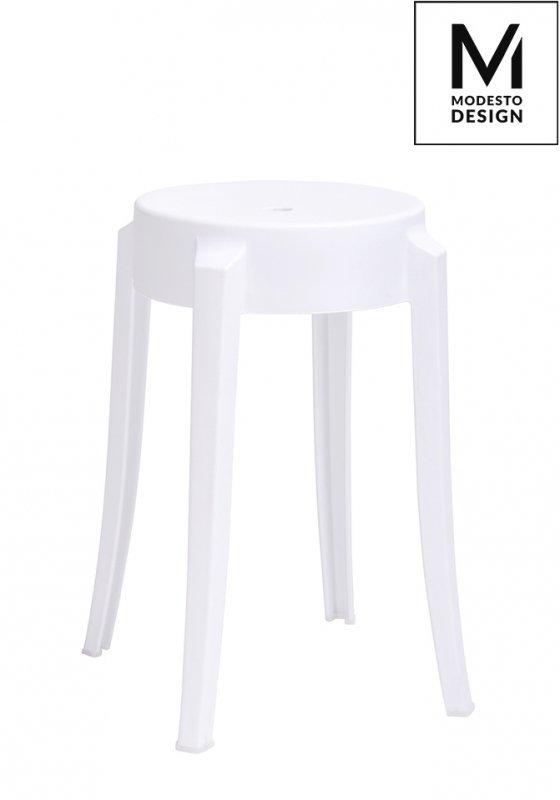 MODESTO stołek CALMAR 46 biały - polipropylen