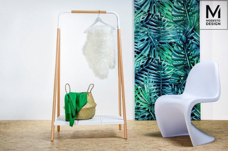 MODESTO krzesło HOVER czarne - polipropylen