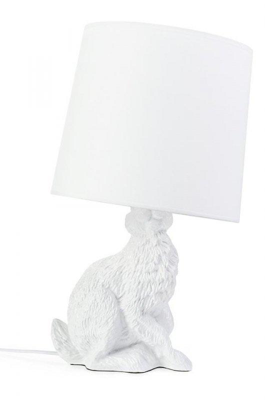 Lampa biurkowa RABBIT - biała