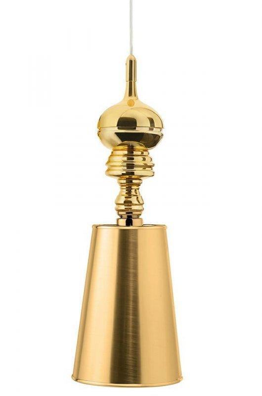 Lampa wisząca QUEEN 18 złota