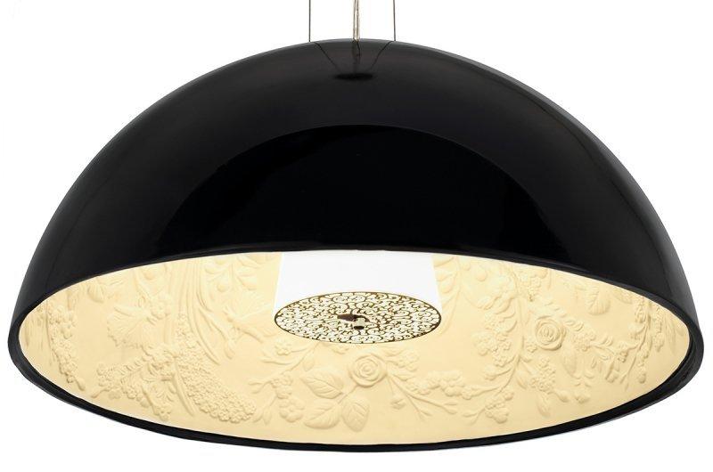 Lampa wisząca ELEGANTE 90 czarna