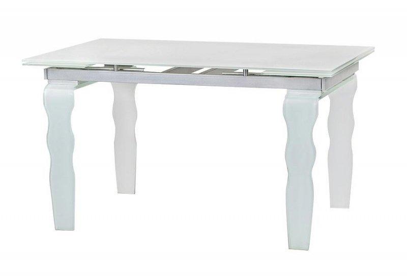 Stół szklany VENDOME OPTI WHITE biały - 200/300