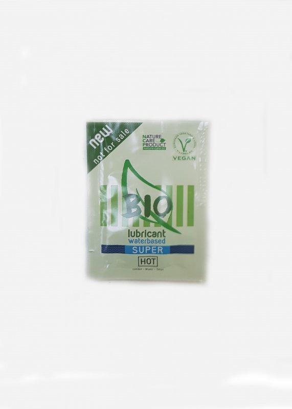Żel-Sachet HOT BIO lubricant Super 3 ml