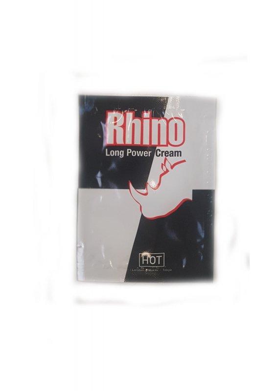 Żel/sprej-Sachet Hot Rhino long power Cream 3ml.