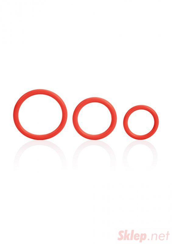 Pierścień-TRI-RINGS RED