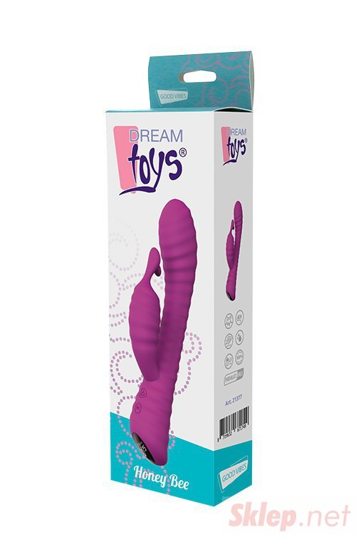 Wibrator-DREAM TOYS HONEY BEE PURPLE