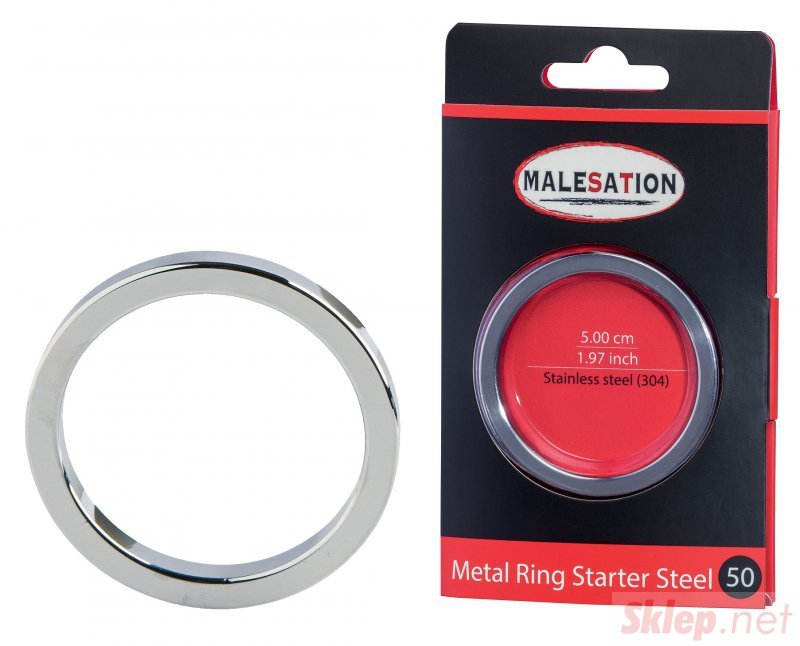 MALESATION Metal Ring Starter Steel 50