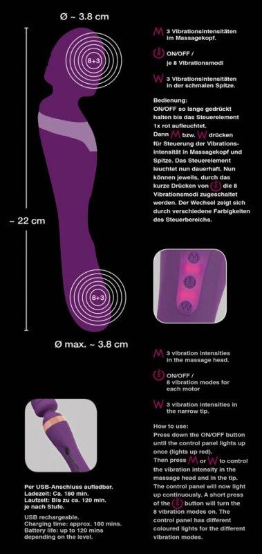 Stymulator-Javida Double Massag