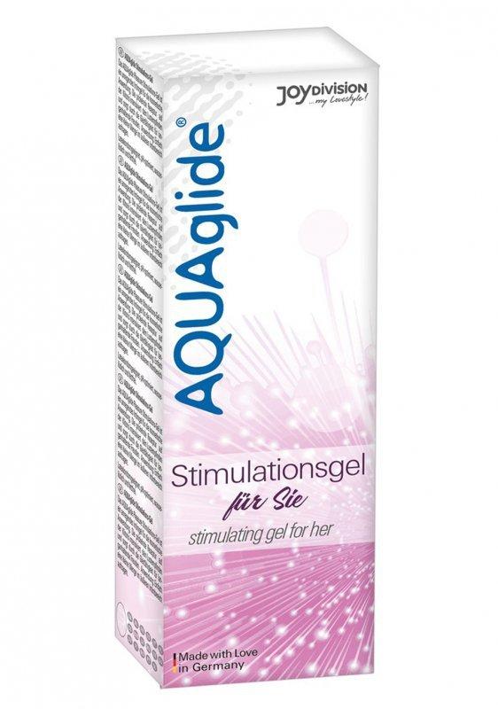 Żel-AQUAglide stimulating gel for her, 25 ml