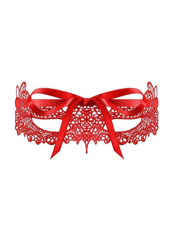 Bielizna-A701 maska czerwona  O/S