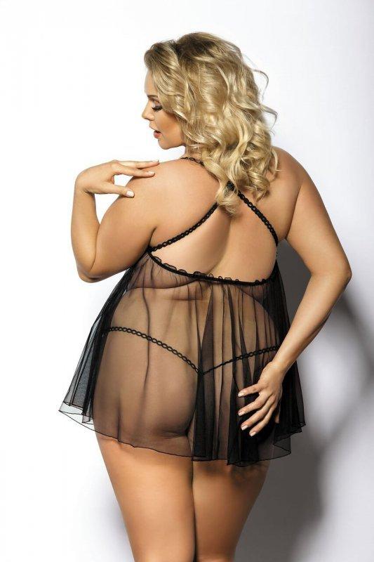 ANEMOS black chemise L+ (czarna halka)