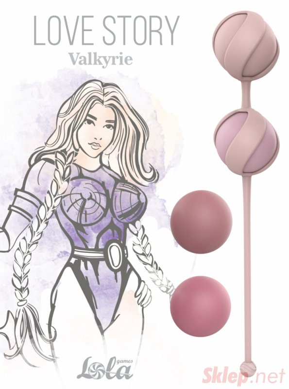 Replacement Vaginal Balls Set Love Story Valkyrie Pink