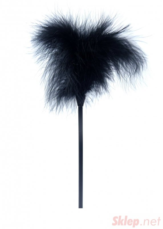 Feather Tickler Black - Boss Series Fetish