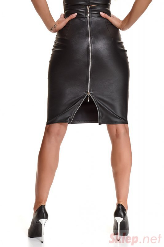 Bielizna - BRFEDERICA001 spódnica czarna rozmiar L