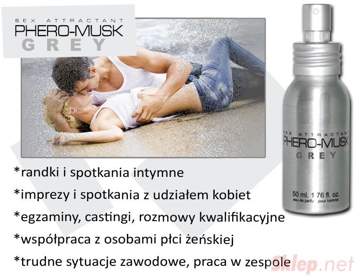 Feromony-PHERO-MUSK GREY 50 ml for men