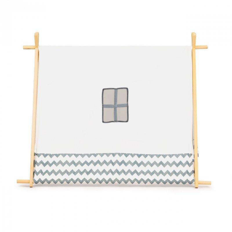 Namiot dla dzieci duży domek tipi wigwam drewniana konstrukcja