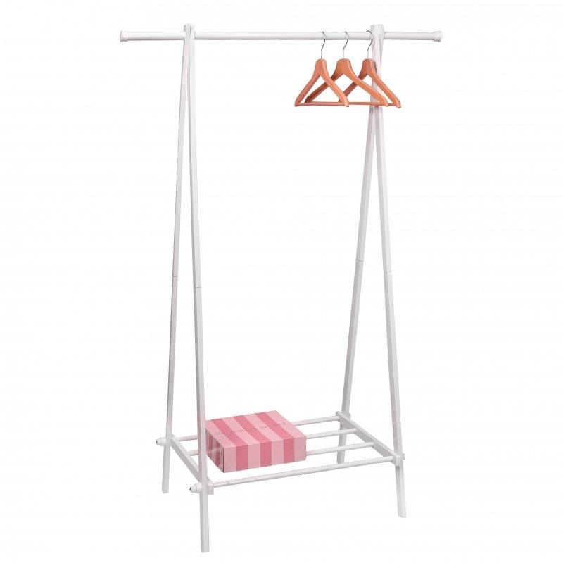 Wieszak stojak z półką szafa garderoba