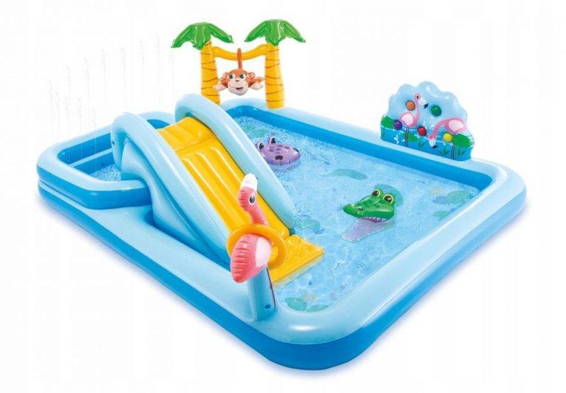 Basen wodny plac zabaw zjeżdżalnia intex 57161