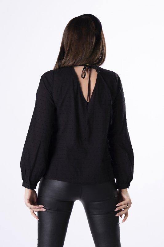 bluzka z wiązaniem na plecach