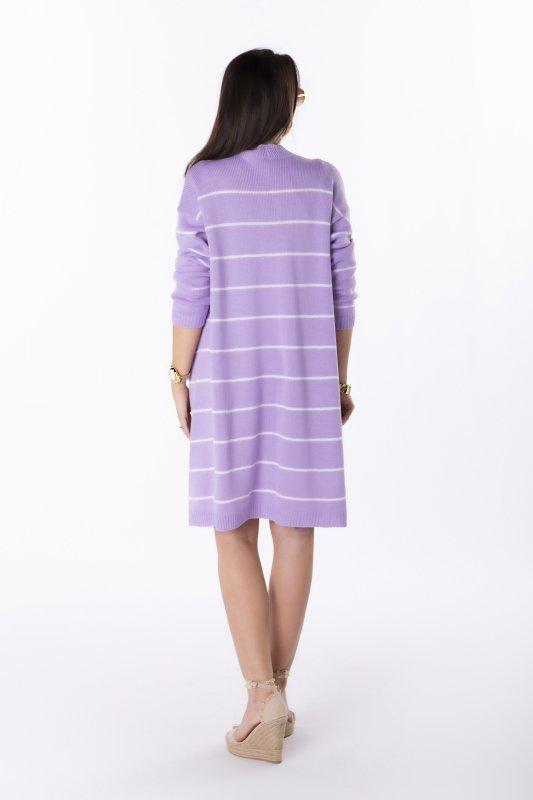 oversizowy sweter bez zapięcia
