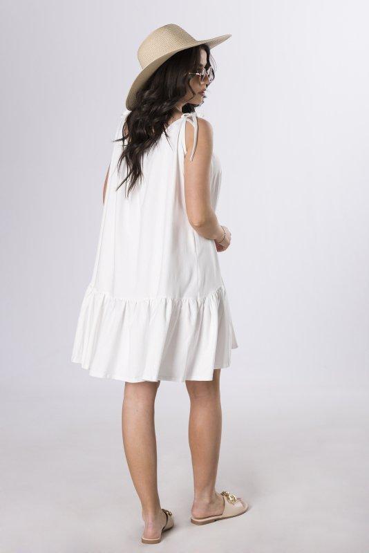 oversize'owa sukienka na ramiączkach