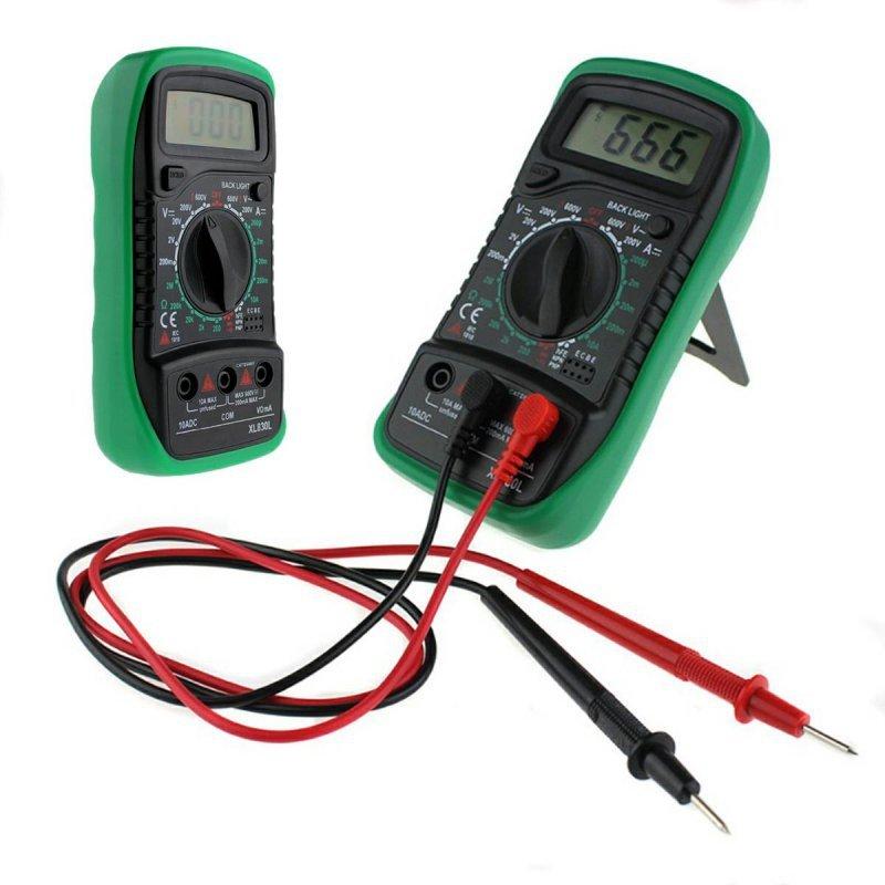 AG102E Multimetr xl830l +2 sondy green