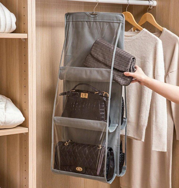 AG17D Organizer na torebki do szafy