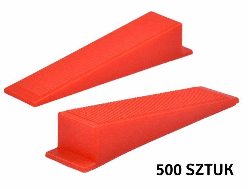 AG707A Kliny syst. poziom. 500+100 1mm
