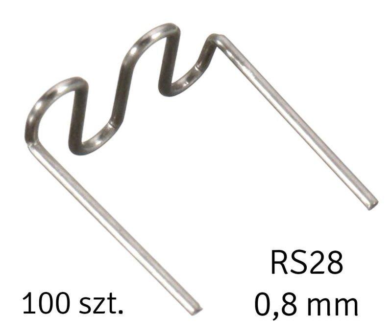 AG713A Spinki do zgrzewania plastiku 100