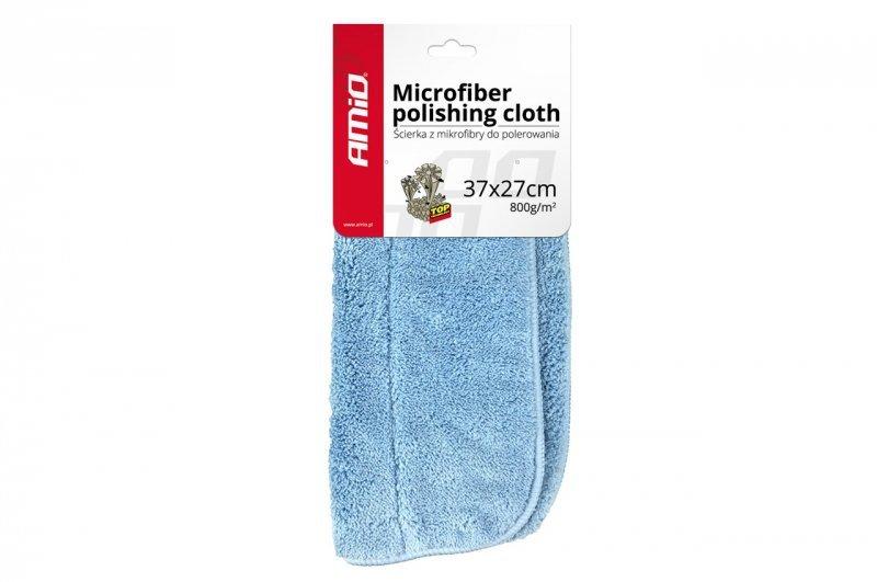 01620 Ścierka ręcznik do polerowania z mikrofibry 37x27cm 800g/m2