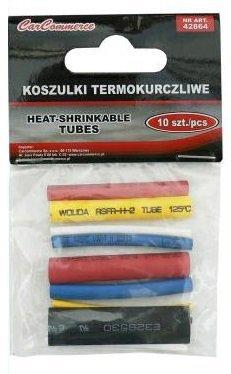 Rurki/koszulki termokurczliwe 10 sztuk