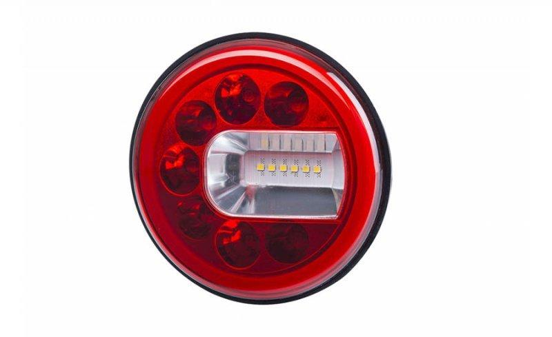 Lampa zespolona tylna hor 96b - luna, diodowa 12/24v, prawa (wersja naścienna, światło pozycyjne, przeciwmgielne i cofania, prze