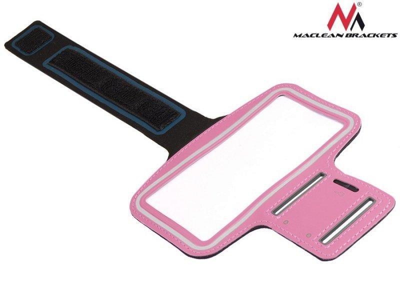 """Etui na telefon na ramię różowy 4,8"""" Maclean MC-405 P"""