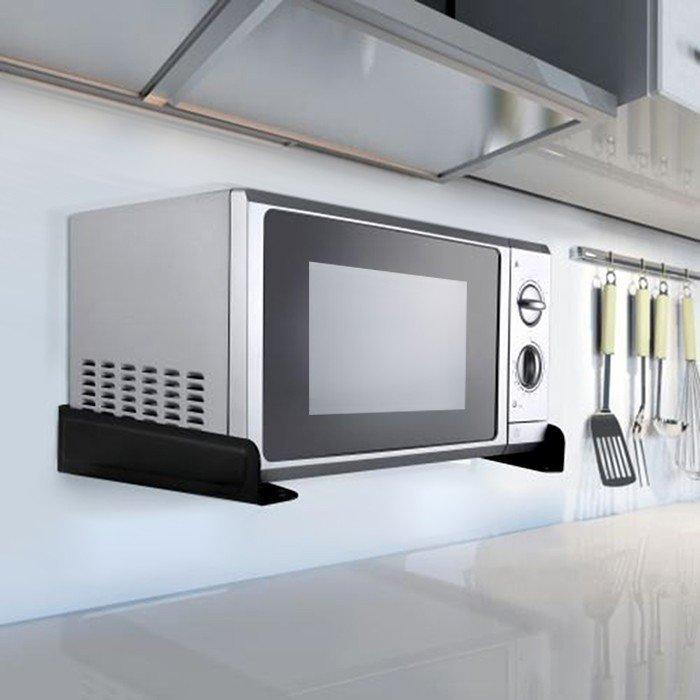 Uchwyt do kuchenki mikrofalowej Maclean MC-807  black do 35 kg