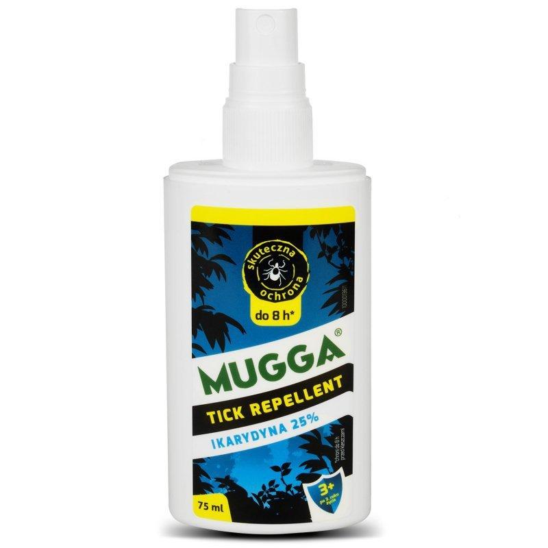 Preparat przeciw insektom Mugga Spray 75ml 25% Ikarydyna