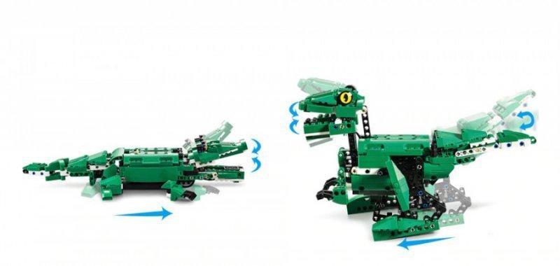 Krokodyl/ Dinozaur (2w1) - klocki CADA