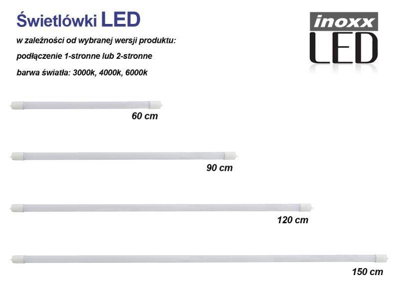 Świetlówka led 90cm 14w 4000k t8 jednostronna neutralna